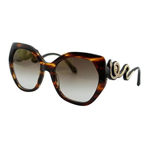 عینک آفتابی زنانه قهوه ای رنگ مدل Sunglasses Roberto Cavalli CHIANCIANO RC 1047 47G light brown/other /