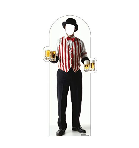 Awards Outs Night Cut (Advanced Graphics Carnival Bartender Stand-in Life Size Cardboard Cutout Standup)