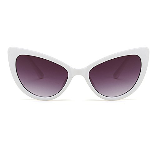 sol moda del Gafas de de estilo mod ojo vendimia del C1 de mujeres la del del gato sol diseñador FuyingdaGafas de de para las qy7A6nTWTw