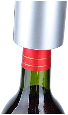 Sacacorchos para Botellas Eléctrico del vino del sacacorchos con base de carga, hogar automático del sacacorchos del vino, corcho del sacacorchos del vino (recargable) Abridor Botellas
