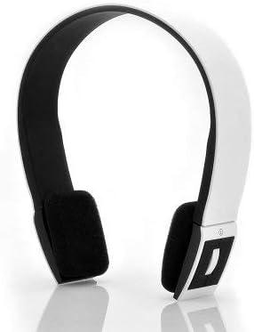 Casque stéréo Bluetooth qualité HiFi Ecouteur Couleur Blanc