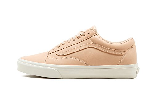 Vans Old Skool DX Mens Unisex Veggie Tan Leather Skateboarding Shoes Tan visa payment online oKpLTj8m