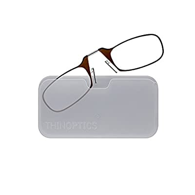 ThinOptics Reading Glasses + Universal Pod Case | Classic Collection
