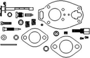Massey Ferguson Complete Carburetor Kit (Marvel-Schebler)...