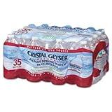 water 35 pack - Crystal Geyser Alpine Spring Water, 16.9 oz Bottle, 35 count (2 PACK)