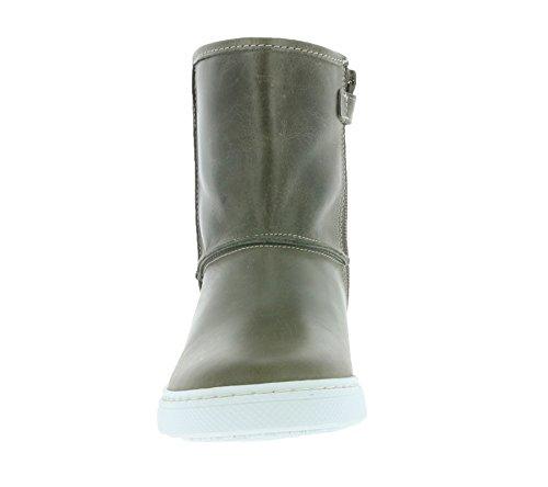 BULLBOXER Stone Enfants cuir véritable bottines gris AGM507E6L-STON
