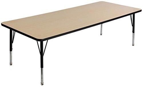Laminated Rectangular Tabletop - 9