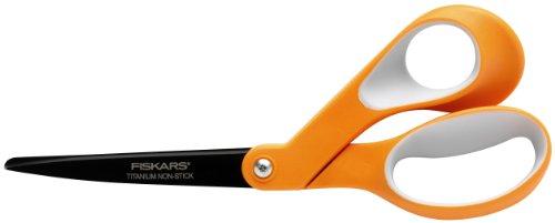 Fiskars Non stick Titanium Softgrip Scissors