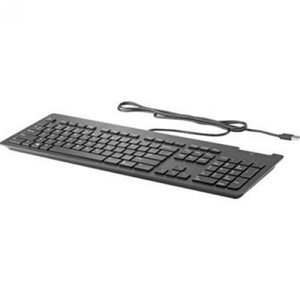Hp Keyboard Lock - HP Z9H48AT#ABA Business Slim Wired Keyboard USB, Black