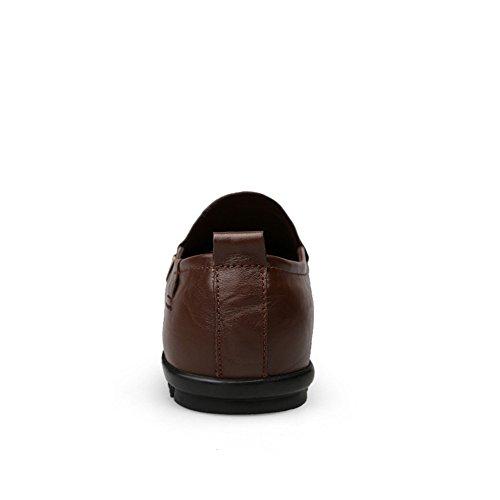 Mocassini Da Uomo alta qualit shoes casual 2018 pelle Scarpe Mocassini da Shufang uomo di in xnSEwUfS