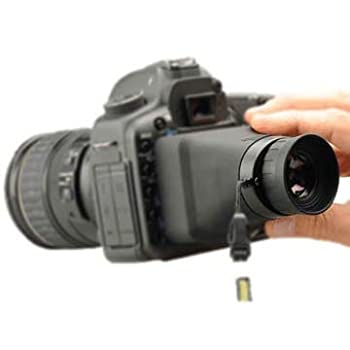 "Hoodman Compact Hoodloupe Optical Viewfinder For 3.2"" Lcd Displays 0"