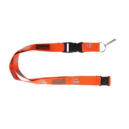 - aminco NFL Cleveland Browns LanyardTeam Color Orange, Team Colors, One Size