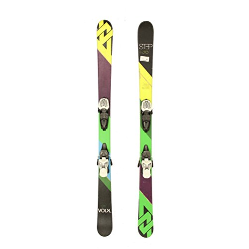 Used 2014 Volkl Step Jr Big Kids Youth Skis Marker 7.0 Bindings C Condition - 148cm
