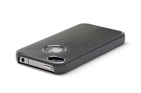 Kensington K39389EU - Carcasa de aluminio para iPhone 4 / 4S, color Gris