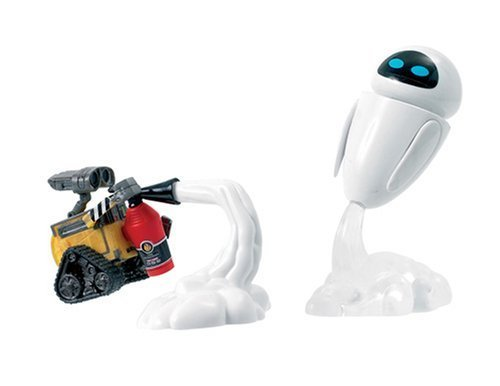 Disney Pixar WALLE Movie Scene The Space Rescue Figure Set with Eve by Vivid Imaginations (Rescue Set Figure Space)