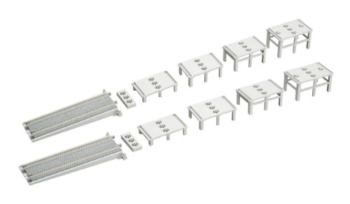 (Kato USA, Inc. N Double Track Incline Basic Pier Set)