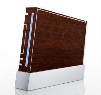 Maple Wood Grain Skin for Nintendo Wii Console ()
