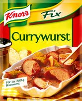 Knorr Fix For Curry Sausage - Sauce Mix ( 1 pc - Sauce Knorr Curry