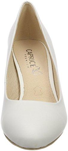Escarpins White 22412 Blanc 102 Nappa Caprice Femme 1Fq4xWww5z