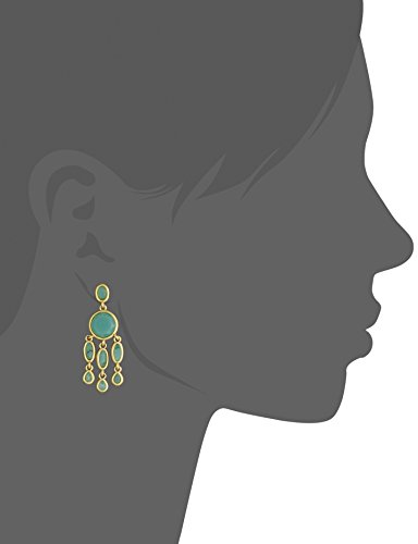Karen Kane Baja Jade Chandelier Drop Earrings Photo #2
