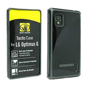 Body Glove 9307401 Tactic Case for LG LS970/Eclipse 4G LTE - 1 Pack - Retail Packaging - Charcoal/Black