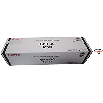 Genuine Canon GPR-38 Black Toner Cartridge imageRunner 3766B003AA Free Shipping