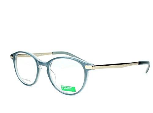 optical-frame-benetton-acetate-blue-silver-be133-03