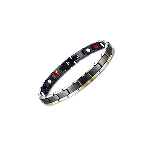 Titanium Magnetic Therapy Health Bracelet - 2017 New Pure Row 4 Elements Magnetic Therapy Bracelets (Titanium Magnetic Bracelets)