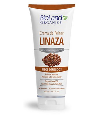 Amazon.com : Organic Flaxseed Moisturizer for Modelling and Hairstyle 13.5 fl.oz. | Crema Organica Para Modelado y Peinado Linaza Pro-lacios 400 ml : Beauty