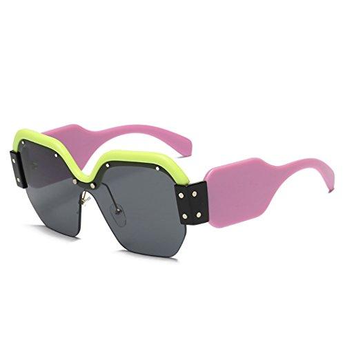 de se Horrenz manera de de los marca vidrios Gafas Steampunk de de mujeres sol de las o de de la 5 de Sun cuadrado lujo Tipo la oras claras las vendimia la de gran gafas cuadrado tama de sol rqtRSX4Bwr
