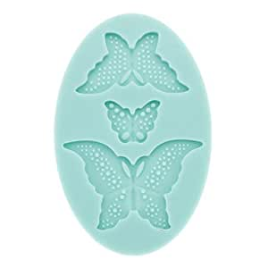CATint DIY Baking 3D Butterfly Shaped Cake Cookie Mould (Random Color)