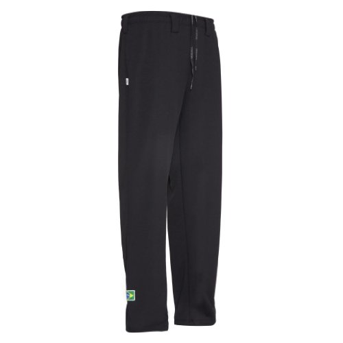JL Sport Authentic Brazilian Capoeira Martial Arts Pants - Unisex (Black)