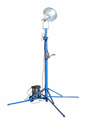 Portable Light Tower - 1000 Watt Metal Halide - Covers 23,000 SF - Extends to 12 feet(-240 Volts) by Larson Electronics (Image #2)