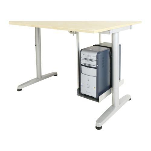 IKEA SUMMERA - ordenador - soporte plateado: Amazon.es: Hogar