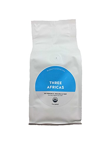 Blue Bottle Coffee - Three Africas Coalesce (Whole Beans Coffee), 6 Ounces