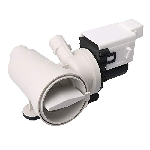RDEXP 20x15.5x13cm Plastic Metal Part Number W10130913 Water Drain Pump Motor Washer Replaces 8540027 8540028
