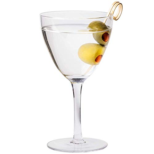 Core 6 oz. Nick and Nora Vintage Martini Glass - 6/Box