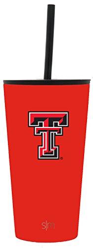 Texas Tech University Football - Simple Modern 16oz Classic Tumbler Texas Tech