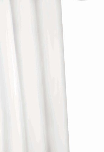 CROYDEX WHITE PROFESSIONAL TEXTILE SHOWER CURTAIN 180 X 180CM