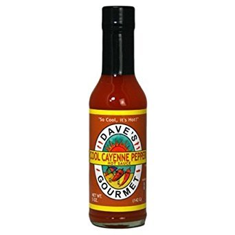 Cool Cayenne Pepper Sauce - Daves Cool Cayenne Hot Sauce, 5 Ounce - 12 per case.