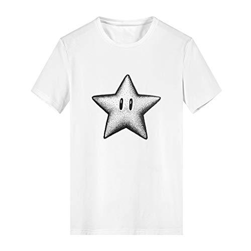 YEZIJIN Boys and Girls Fashion Cartoon Animated Parent-Child T-Shirt Tops Unisex Fashion 2019 Under Dollars -