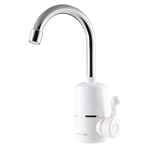 Majome 1 unids Grifo electrico del Grifo instantaneo Calentador de Agua Caliente para el bano en casa Cocina estandar de la UE