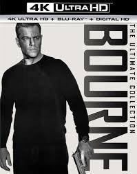 Jason Bourne: 5 Movie Collection [4K Ultra HD Blu-ray]