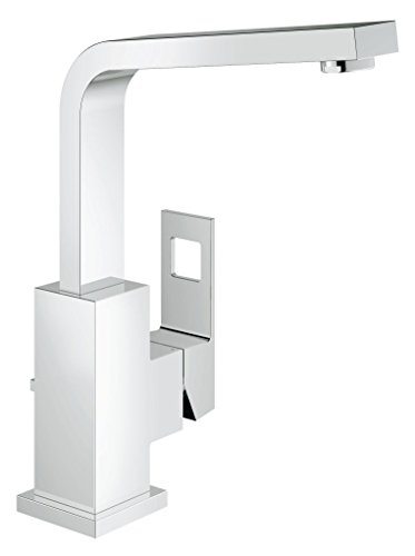 Grohe Eurocube 2313500E 1/2-inch Single-Lever Basin Mixer - Chrome Finish