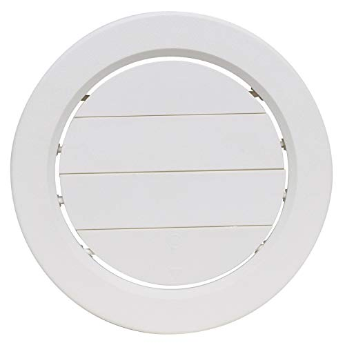 Valterra A10-3358VP White Rotating Heat and A/C Register with Damper (5