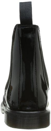 black Noir Faun Bottines Lamper Patent Femme Martens Dr 7fq0BB