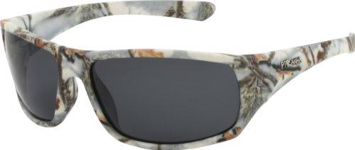 White Camo Sport Hunting Fishing Outdoor - White L Sunglasses For Men