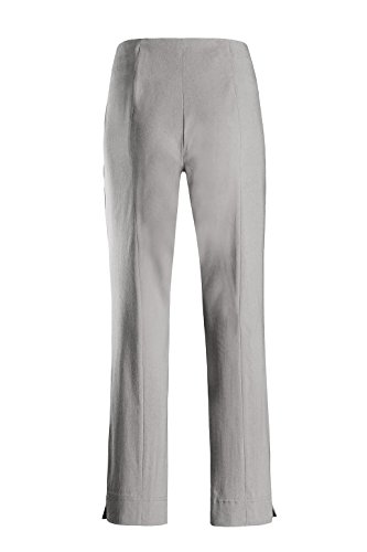 Comprar Un Cómodo Este Ina nbsp;pants Tamaño Señoras Super Stehmann Pantalones Silverware Recto Corte La Elástico Fit nbsp;– 740 Pequeños Pantalones Alto Más Zaqqtw7HU