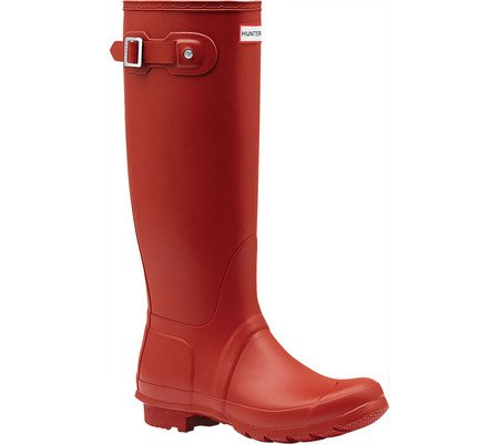 Hunter Original Tall - Botas para mujer Red