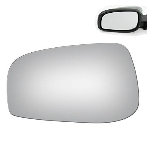 WLLW Mirror Glass Replacement for 04-06 Volvo S60 S80 V70 Driver Left Side ()